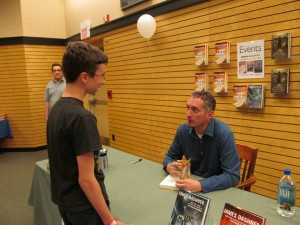 James Dashner book signing